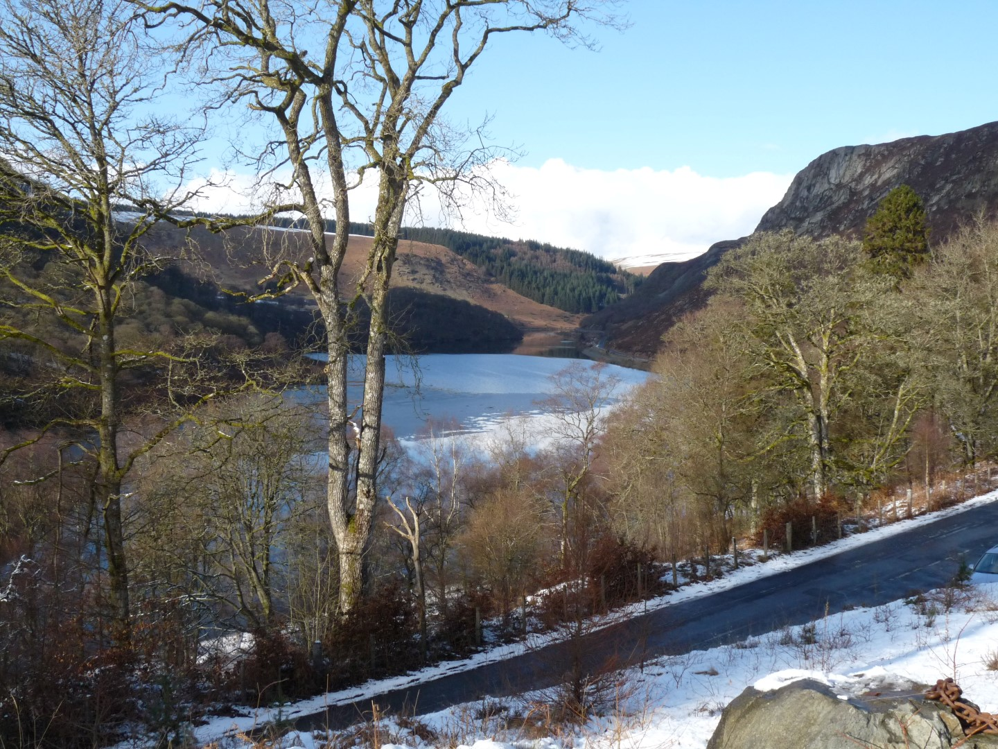 Elan Valley in Winter