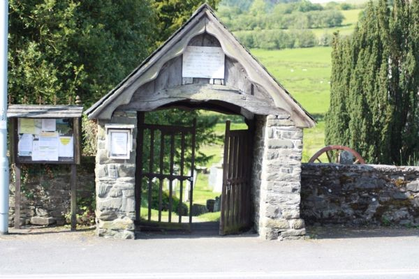 St Curig's Church Gates